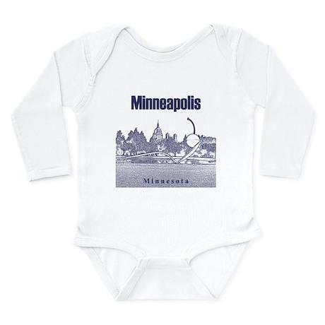Minneapolis Long Sleeve Infant Bodysuit