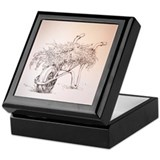 Gardener's Wheelbarrow Keepsake Box