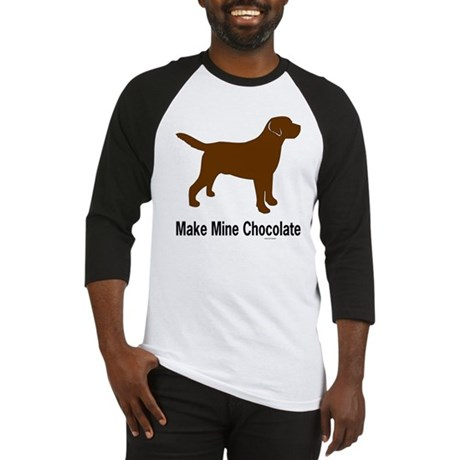 Make Mine Chocolate La Baseball Jersey