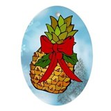 Pineapple Oval Ornament