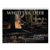 Whitetail Deer, Issue 8 Wall Calendar