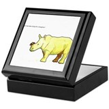 Ralph the Rhino Keepsake Box