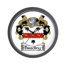 Bradley Coat of Arms Wall Clock