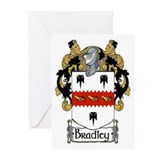Bradley Coat of Arms Greeting Cards (Pk of 10)
