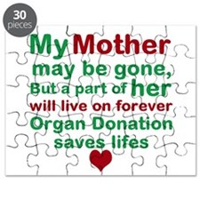 Personalize Me Organ Donation Saves Life Puzzle