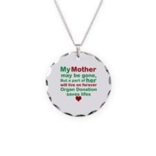 Personalize Me Organ Donation Saves Life Necklace