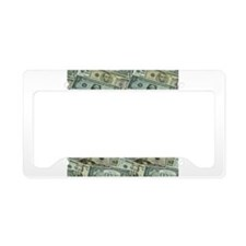 Easy Money License Plate Holder