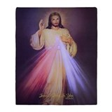 Catholic saints Fleece Blankets