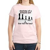 Chessmen Women's Pink T-Shirt