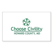 Choose Civility Logo Decal