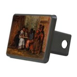 ia, 1877 (oil on canvas) - Rectangular Hitch Cover