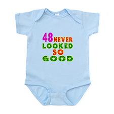48 Birthday Designs Infant Bodysuit