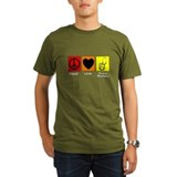 peace love nursing assistants 4 T-Shirt