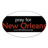 pray for New Orlean... Decal