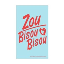 Zou Bisou Bisou Decal