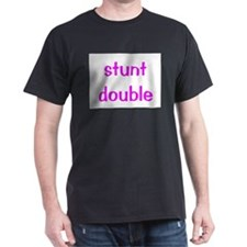 Stunt Double - pink T-Shirt