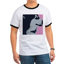 Malamute Dog Pop Art T