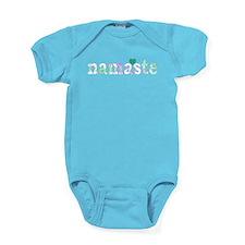 Colorful Namaste Baby Bodysuit