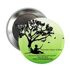 "Gastroschisis awareness ribbon 2.25"" Button"