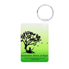 Gastroschisis awareness ribbon Keychains