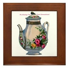 Always Tea Time Framed Tile