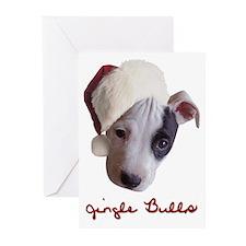 Jingle Bulls Greeting Cards (Pk of 10)