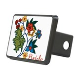 Bride Native Flowers Hitch Cover