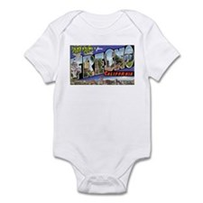 Fresno California Greetings Infant Bodysuit