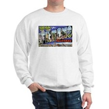 Fresno California Greetings (Front) Sweatshirt