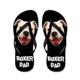 Boxer Dad Dog Flip Flops