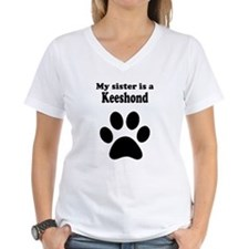 My Sister Is A Keeshond T-Shirt