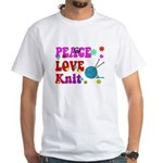peace love knit T-Shirt