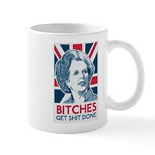 Margaret Thatcher Bitches Small Mug