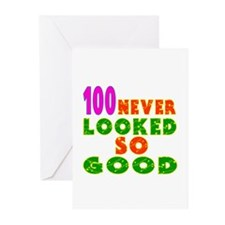 100 Birthday Designs Greeting Cards (Pk of 10)