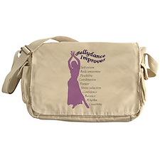 Bellydance improves.png Messenger Bag