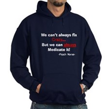 psych nurse cant fix crazy DARKS Hoodie