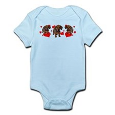 Dachshund Dachsie Puppies Infant Bodysuit
