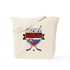 Hokej Slovensko Hockey Shield Tote Bag