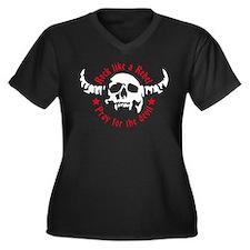 Devil skull 04-2013 B 2c Plus Size T-Shirt