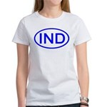India - IND Oval Women's T-Shirt