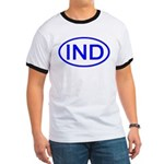 India - IND Oval Ringer T