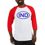 India - IND Oval Baseball Jersey