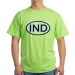 India - IND Oval Green T-Shirt