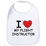 I love flight instructors Bib
