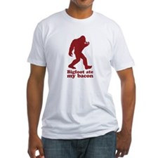 Bigfoot (Sasquatch) ate my bacon! T-Shirt