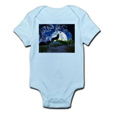 Howling Wolf Body Suit