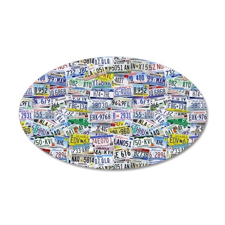 Fully Licensed 20x12 Oval Wall Decal