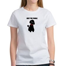 obey_poodle_black2.bmp T-Shirt
