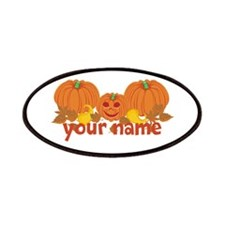 Personalized Halloween Patches