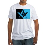 Masonic Rectangle Fitted T-Shirt